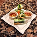 Bamboo Pho & Springroll photo by  ℋumorous